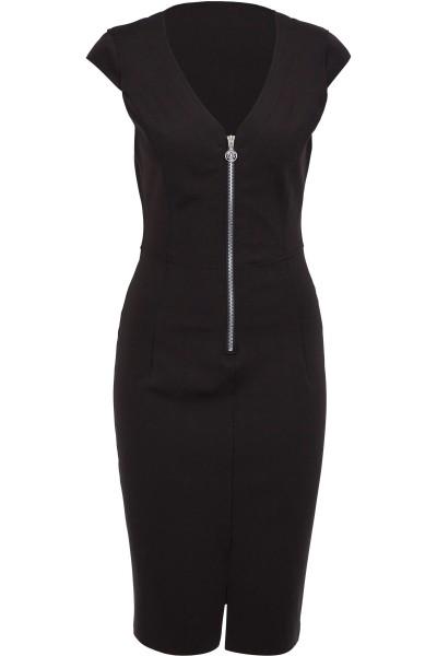Figurbetontes Kleid mit Zipp-Detail