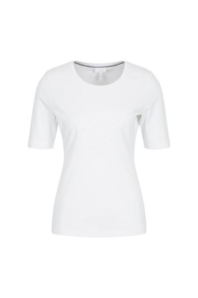 T-Shirt mit modischem Glitzerdetail