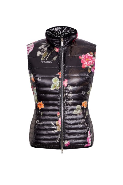 Gilet im All-Over-Print