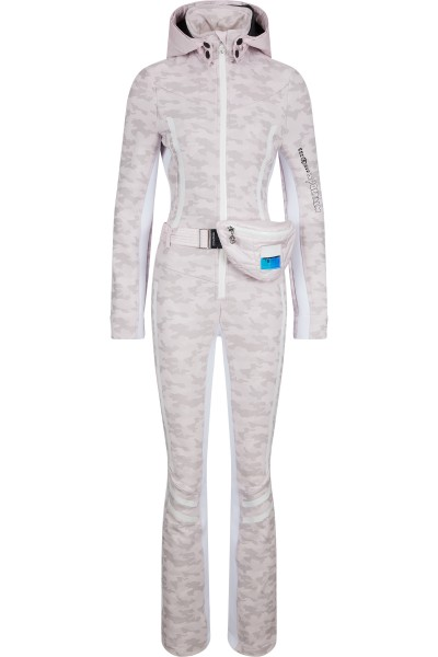 Ski overall made from softshell