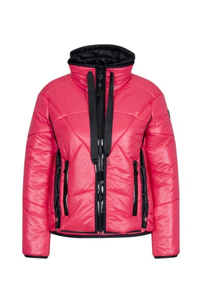 Sportliche Jacke mit Doppel-Kragen