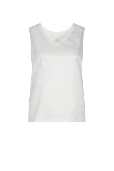 Ärmelloses Shirt mit V-Ausschnitt