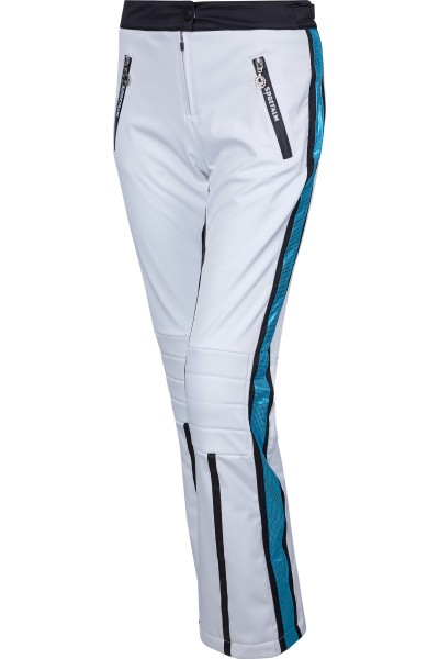 Ski pants with side inserts