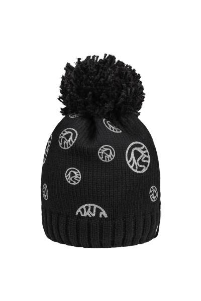 Mütze mit Logo-Metallicfoliendruck
