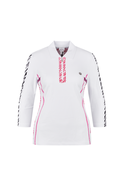 Golf shirt in jersey quality