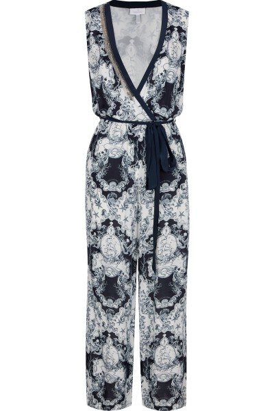 Overall in allover print