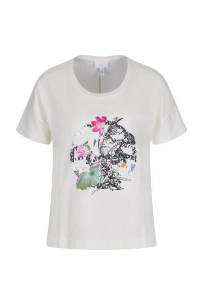 Shirt mit Blumenmotiv