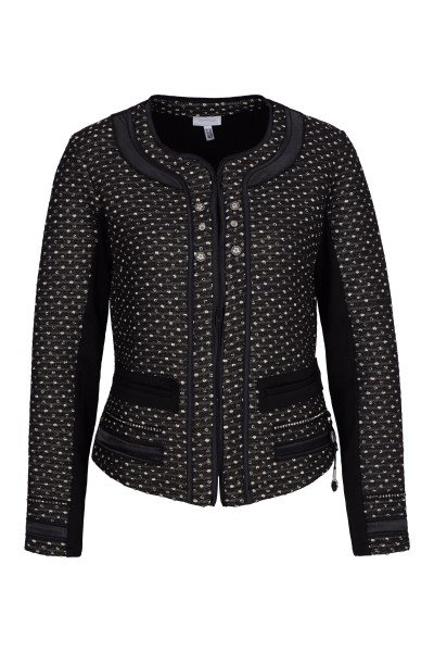Elegant jacket in point design