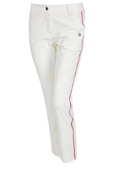 Stretchige Hose mit seitlichen Galonstreifen