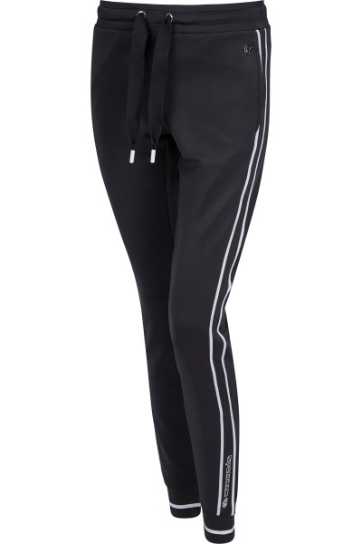 Sweatpants with side gallon stripes