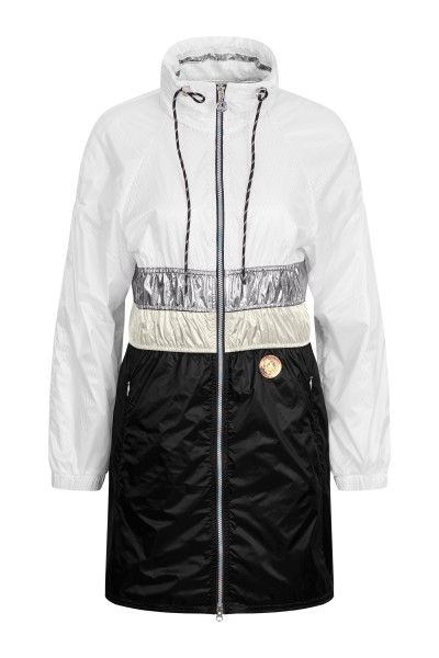 Casual sporty nylon coat