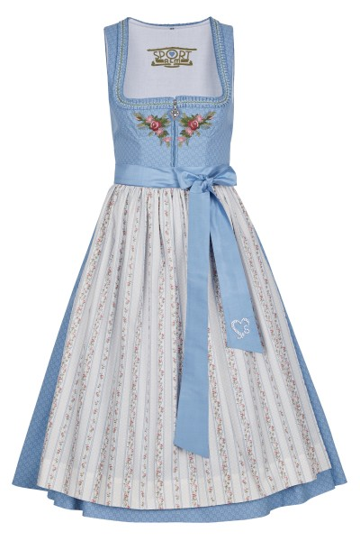 Dirndl with a floral print
