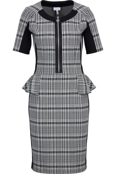 Trendy dress in check