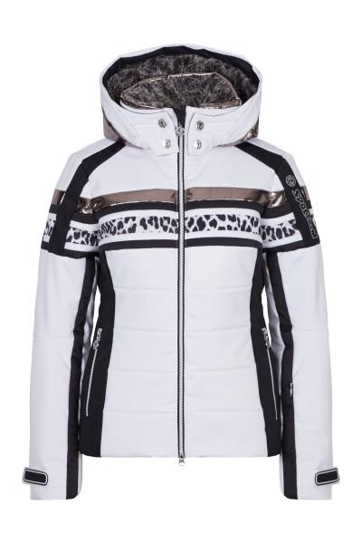 Sportliche Skijacke mit kuscheligem Kragen