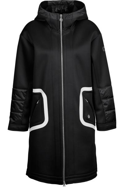 Neonpren coat with hood