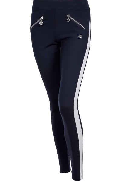 Hose mit seitlichen Galon Streifen