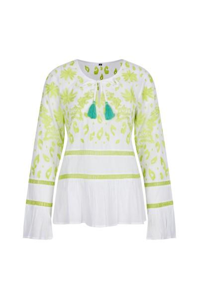 Sommerliche Tunika-Bluse