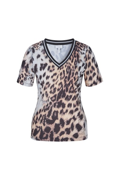 T-shirt in leopard print