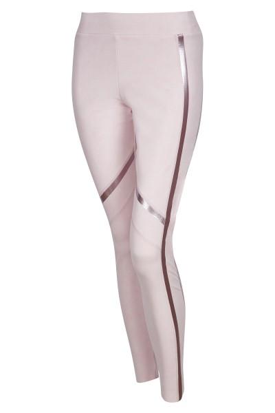 Legging mit seitlichen Galon- Streifen