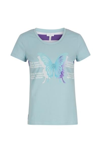 Shirt mit Schmetterling Druck