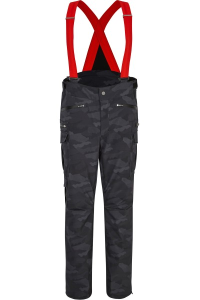 Ski pants in allover print