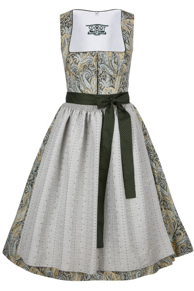 Dirndl in an all-over paisley print