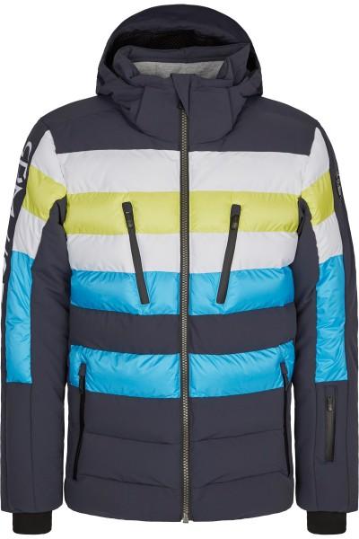 Maskuline Daunen-Skijacke