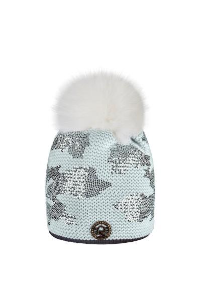 Mütze im allover-Camouflage Print