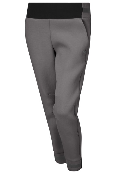 Modische Joggerhose aus softem Neopren mit Eingrifftaschen