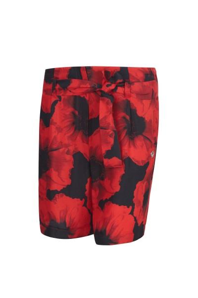 Sommerliche Shorts im All-Over-Druck