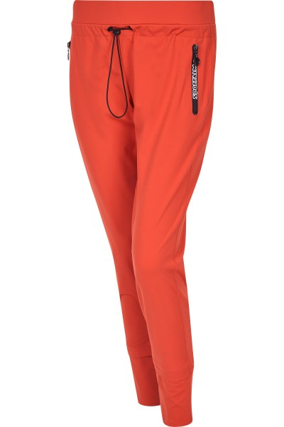 Uniform jogging pants with drawstring
