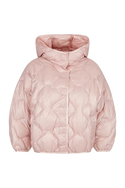 Light down jacket with fashionable S quilting