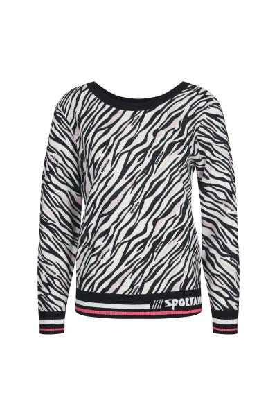 Entzückendes Shirt mit Zebra-Print