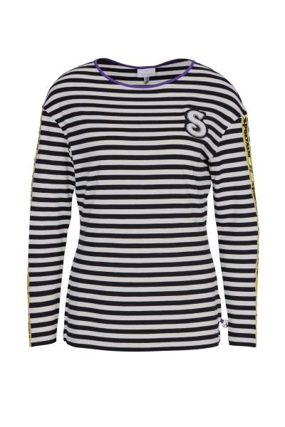 Gestreiftes Jersey-Shirt