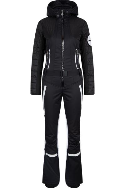 Ski overall made of elastic ski fabric