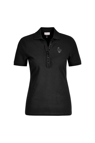 Klassisches Poloshirt in figurnaher Silhouette