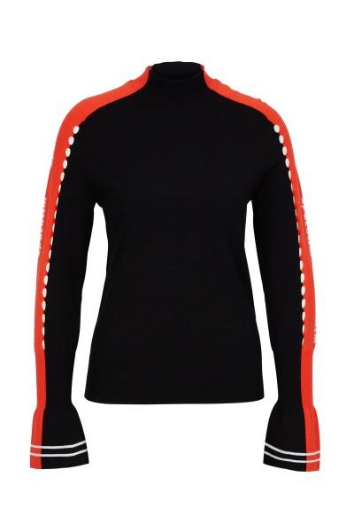 Modischer Viskose-Pullover