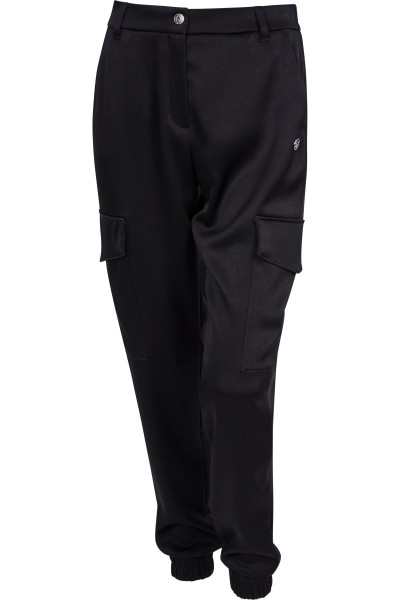 Cargo-look trousers with side pockets