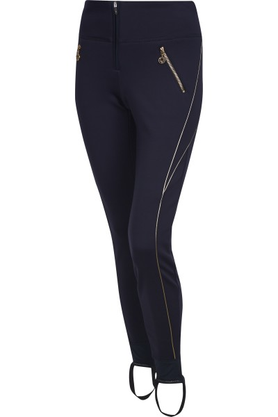 Power stretch stirrup pants