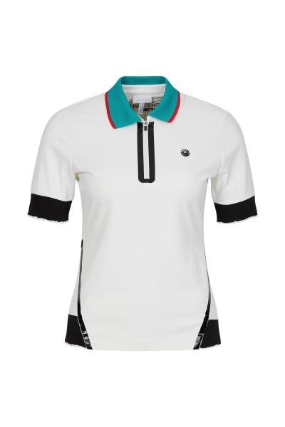 Shirt with polo collar