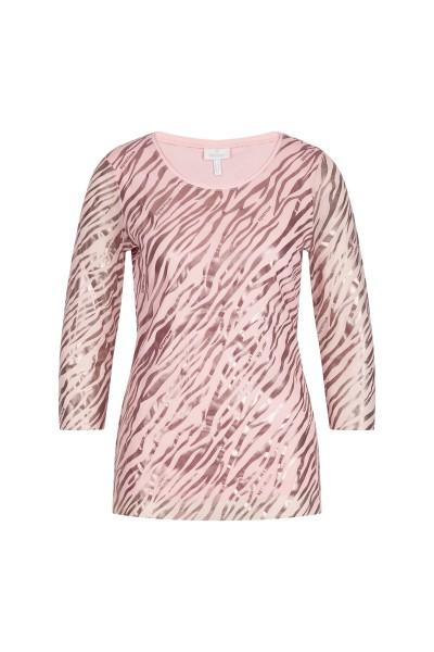 Shirt in allover zebra print