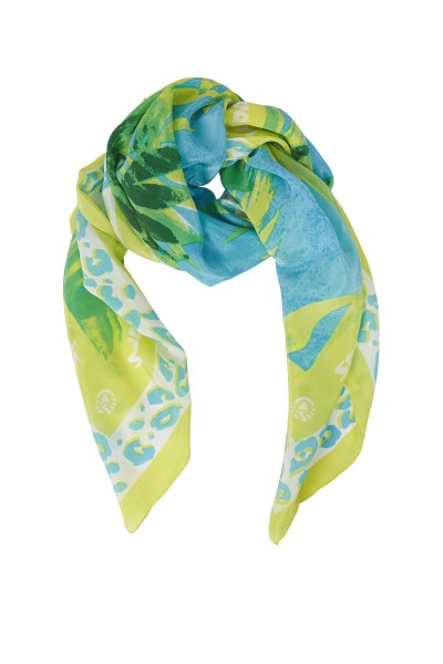 Lightweight printed summer scarf