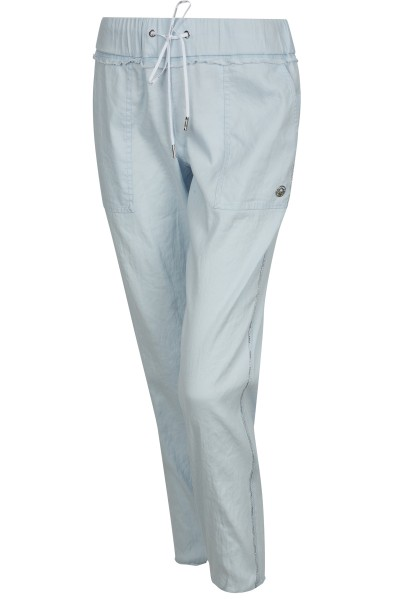 Casual trousers in linen quality