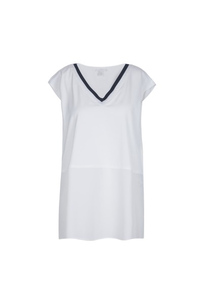 Elegante Bluse mit V-Ausschnitt