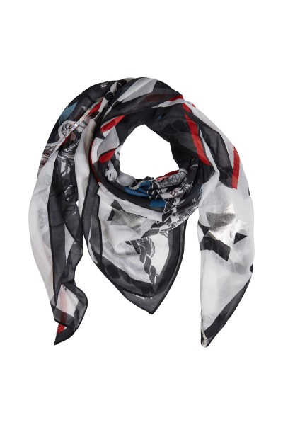 Modal scarf in an allover print