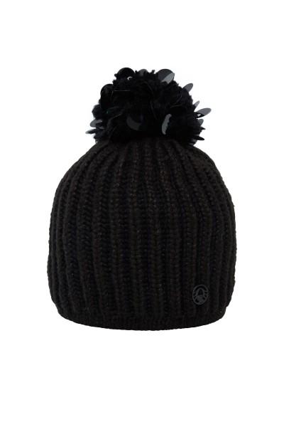 Mütze mit Srickbommel