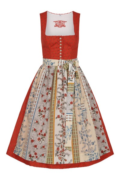 Dirndl im All Over Blumenmotiv