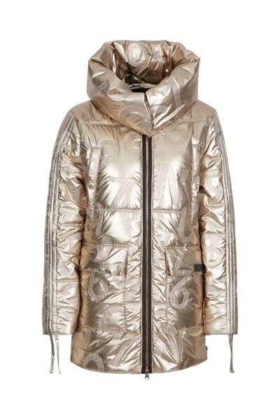 Coat with hood