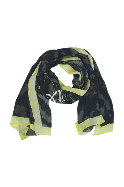 Scarf in viscose crepe quality