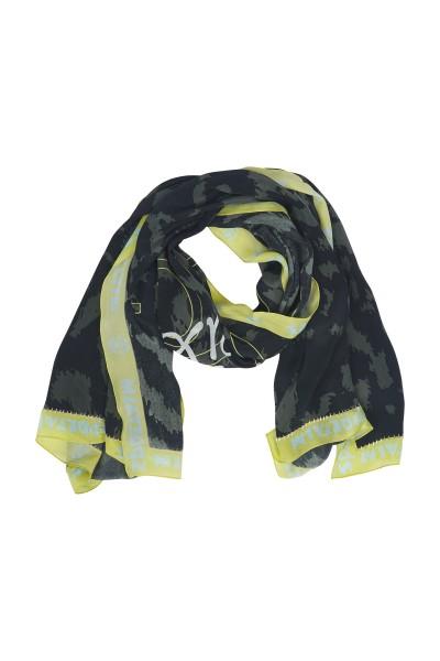 Schal aus Viscose-Crepe-Qualität